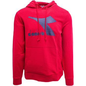 Oblečenie Muži Mikiny Diadora Big Logo Červená
