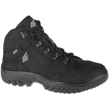 Topánky Muži Členkové tenisky 4F OBMH251 Čierna