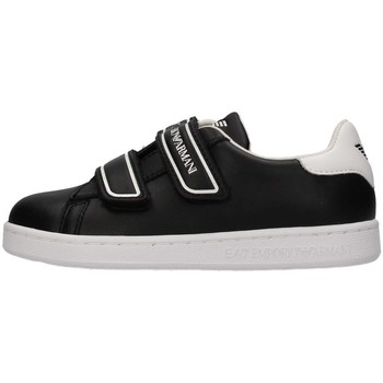 Topánky Chlapci Nízke tenisky Emporio Armani EA7 XSX014 BLACK