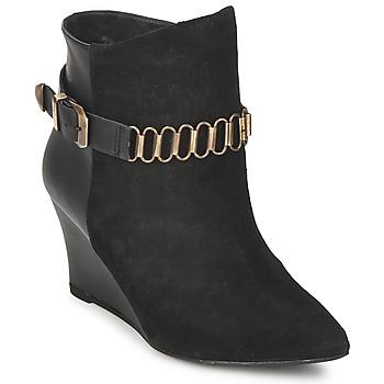 Topánky Ženy Čižmičky Pastelle ALINE Čierna