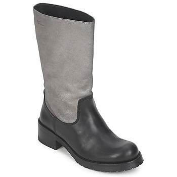 Topánky Ženy Čižmy do mesta Pastelle PETULA Strieborno-čierna