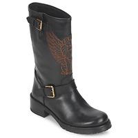 Topánky Ženy Polokozačky Pastelle ANGEL Čierna