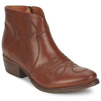 Topánky Ženy Polokozačky Pastelle JANE Ťavia hnedá