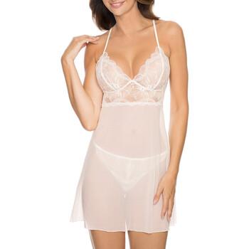 Oblečenie Ženy Pyžamá a nočné košele Gorteks CHARLIZE/K cream Béžová