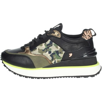 Topánky Ženy Nízke tenisky Gioseppo 64359 Black/Dark Green