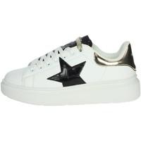 Topánky Ženy Členkové tenisky Shop Art SA80215 White/Black