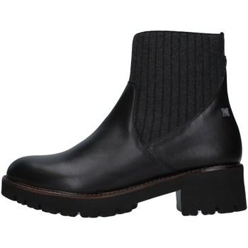 Topánky Ženy Polokozačky CallagHan 13436 BLACK