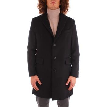 Oblečenie Muži Kabáty Trussardi 52S00621 1T005369 NAVY BLUE