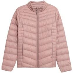 Oblečenie Ženy Vyteplené bundy 4F KUDP002 Ružová