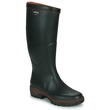 Topánky Muži Čižmy do dažďa Aigle PARCOURS 2 Zelená