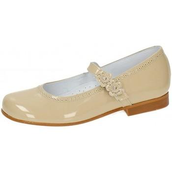Topánky Dievčatá Balerínky a babies Bambinelli 25775-18 Hnedá