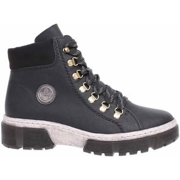 Topánky Ženy Členkové tenisky Rieker X863302 Čierna