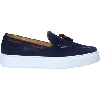 Topánky Muži Mokasíny Exton 511 Modrá