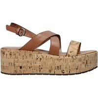 Topánky Ženy Sandále Alviero Martini E095 578A Hnedá