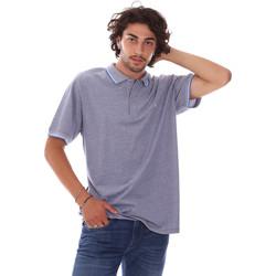 Oblečenie Muži Polokošele s krátkym rukávom Navigare NV82127 Modrá