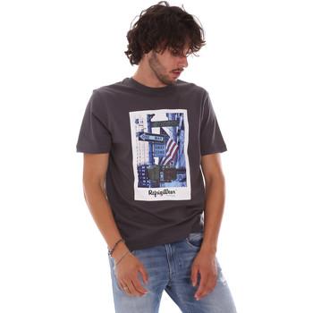 Oblečenie Muži Tričká s krátkym rukávom Refrigiwear RM0T24400JE9101 Šedá