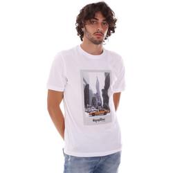 Oblečenie Muži Tričká s krátkym rukávom Refrigiwear RM0T25500JE9101 Biely