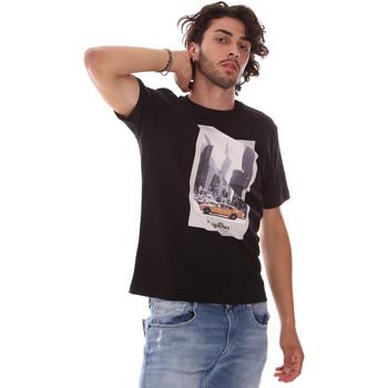 Oblečenie Muži Tričká s krátkym rukávom Refrigiwear RM0T25500JE9101 čierna