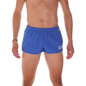 Oblečenie Muži Plavky  Ea7 Emporio Armani 902008 7P731 Modrá