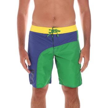 Oblečenie Muži Šortky a bermudy Ea7 Emporio Armani 902003 6P742 Zelená