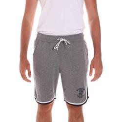 Oblečenie Muži Šortky a bermudy Key Up 2S65F 0001 Šedá