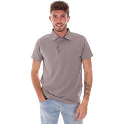 Oblečenie Muži Polokošele s krátkym rukávom Bradano 600 Šedá