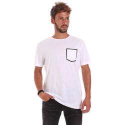 Oblečenie Muži Tričká s krátkym rukávom Antony Morato MMKS00980 FA100084 Biely