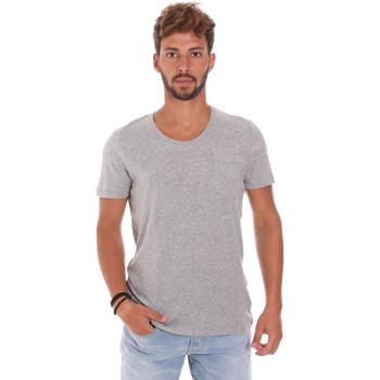 Oblečenie Muži Tričká s krátkym rukávom Antony Morato MMKS01003 FA100092 Šedá