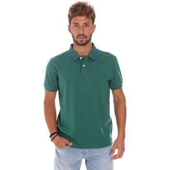 Oblečenie Muži Polokošele s krátkym rukávom U.S Polo Assn. 38238 50336 Zelená