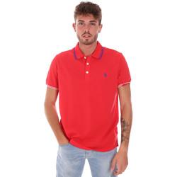 Oblečenie Muži Polokošele s krátkym rukávom U.S Polo Assn. 38270 51711 Červená
