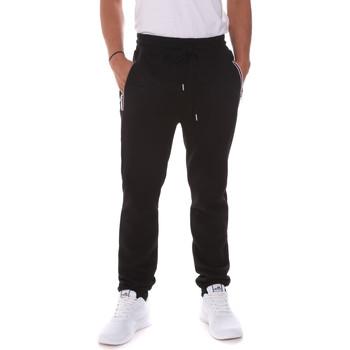 Oblečenie Muži Nohavice Key Up 2FS43 0001 čierna