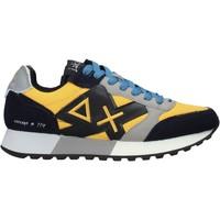 Topánky Muži Módne tenisky Sun68 Z41114 žltá