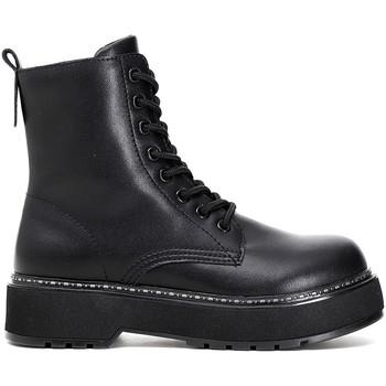 Topánky Ženy Polokozačky Café Noir FF9000 čierna