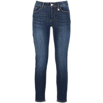 Oblečenie Ženy Rifle Skinny  Café Noir JJ3140 Modrá