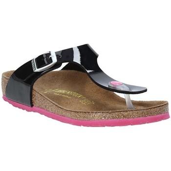 Topánky Deti Žabky Birkenstock 845863 čierna