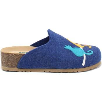 Topánky Ženy Papuče Bionatura 12BLMOO-I-FELB88 Modrá