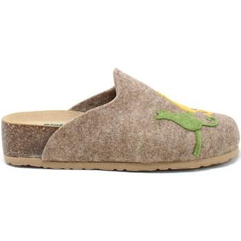 Topánky Ženy Papuče Bionatura 12BLMOO-I-FELC65 Hnedá