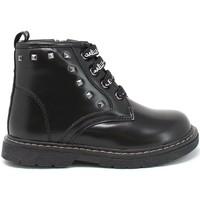 Topánky Deti Polokozačky GaËlle Paris G-1270 čierna