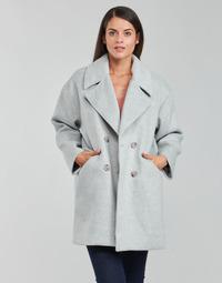 Oblečenie Ženy Kabáty Betty London PYAME Šedá