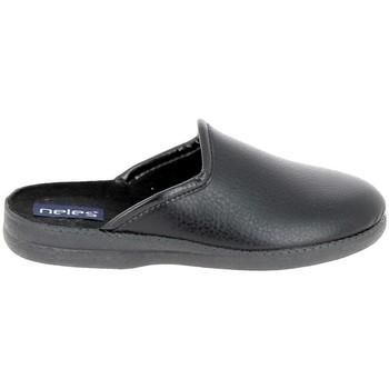 Topánky Muži Papuče Boissy JH9624 Noir Čierna