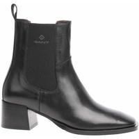 Topánky Ženy Čižmičky Gant 23551141621GW Čierna