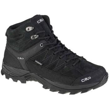 Topánky Muži Členkové tenisky Cmp Rigel Mid Čierna