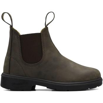 Topánky Deti Polokozačky Blundstone 565 hnedý