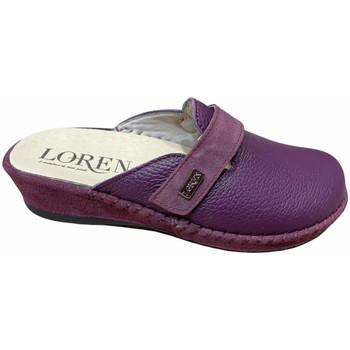 Topánky Ženy Nazuvky Calzaturificio Loren LOM2893pru blu