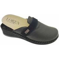 Topánky Ženy Nazuvky Calzaturificio Loren LOM2893ne nero