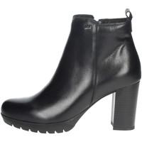 Topánky Ženy Polokozačky Valleverde 49370 Black
