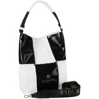 Tašky Ženy Kabelky Badura 105980 Biela, Čierna