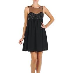 Oblečenie Ženy Krátke šaty Manoush ROBE ETINCELLE Čierna