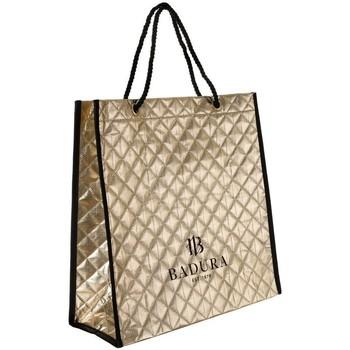 Tašky Ženy Veľké nákupné tašky  Badura 122480 Zlatá