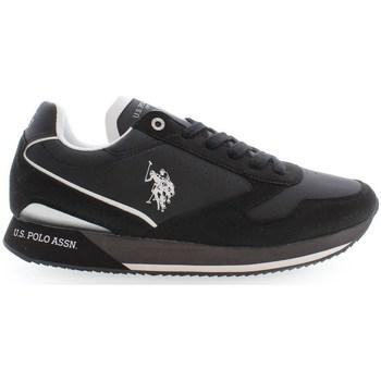 Topánky Muži Nízke tenisky U.S Polo Assn. NOBILE003 Čierna